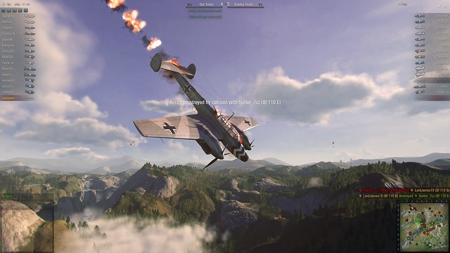World of Warplanes Collision