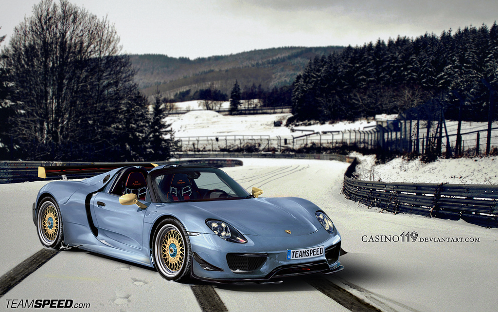 the porsche 918 spyder sets new nurburgring lap record hre performance wheels. Black Bedroom Furniture Sets. Home Design Ideas