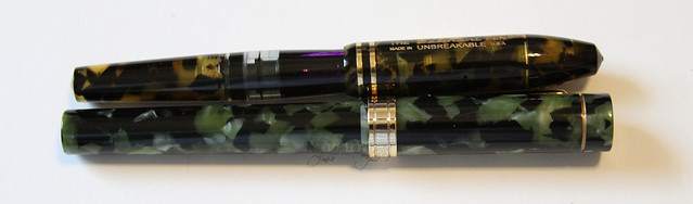 Conklin Endura Stub and Gate City Belmont Pen
