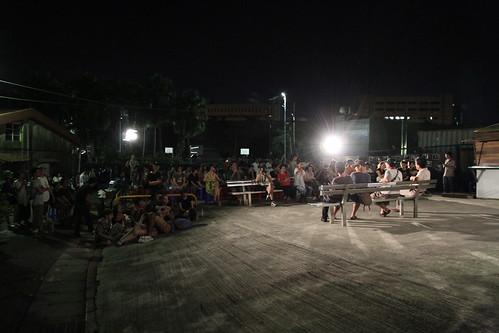 在地居民發起好蟾蜍保留運動,現場吸引許多民眾來到這個台北僅存的山城眷村。
