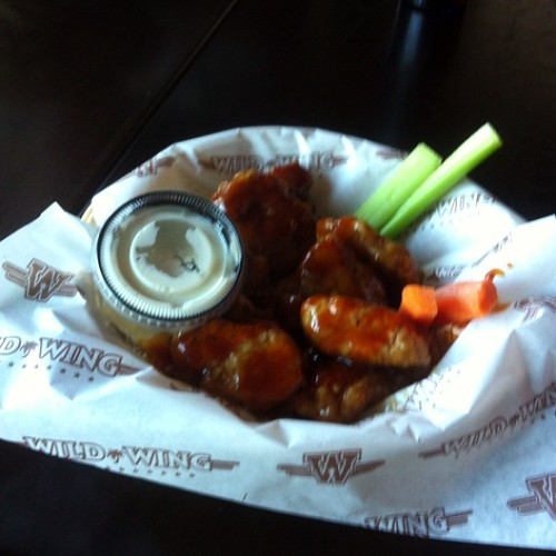 Boneless wings at Wild Wing #yegfood by raise my voice