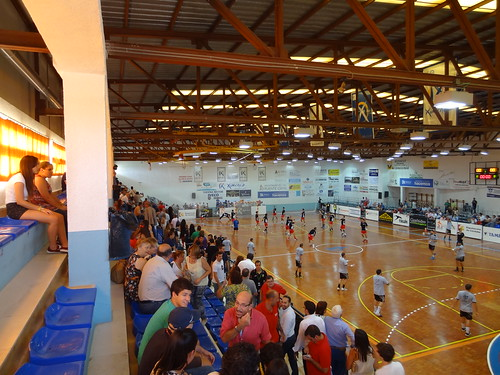Pabellón Alcalde Miguel Salas, home of Puente Genil handball teams