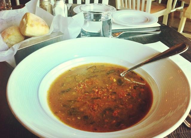 Collard Greens & Chorizo Soup