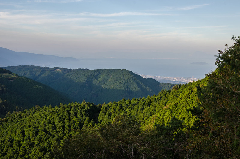 Lake Biwa from Hieizan, Kyoto / 比叡山からの眺望・琵琶湖(京都)