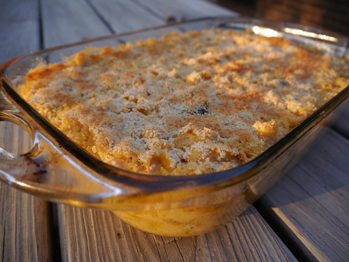 Mac-and-Cheese Monday - Twice-Baked Creamy Mac & Cheese with Sausage (0004)