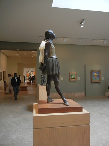 DSCN7753 _ Little Dancer, Aged Fourteen, 1878-81, Edgar Degas (1834-1917), Norton Simon Museum, July 2013
