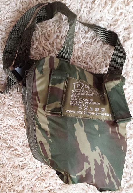 Greek Lizard Stowable Rain Jacket 10237193445_90a5335781_b