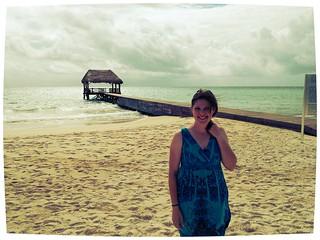 . @dpoe on the beach.