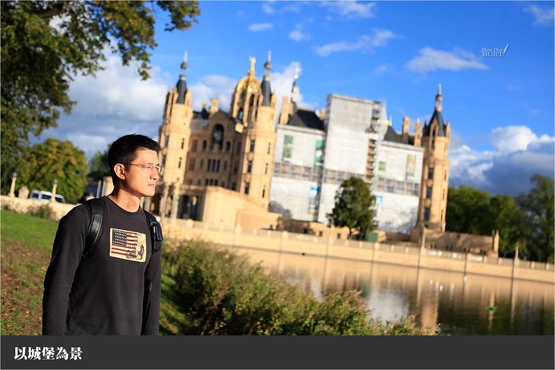 以城堡為景