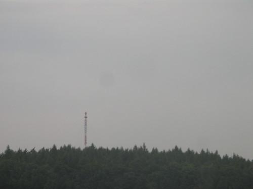 2000 Woldzegarten abgespannter UKW-/TV-Fachwerk-Sendemast 167mH 99kW auf Dusterholzberg 118m ü.NN Walower Straße in 17209