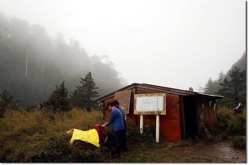 黑水塘山屋(Elev. 2710 m)