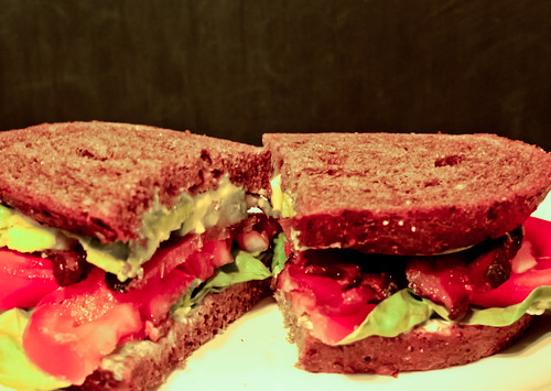 Mother of All BLT with Avocado on Ukrainian Dark Bread. You're welcome. by chloe & ivan
