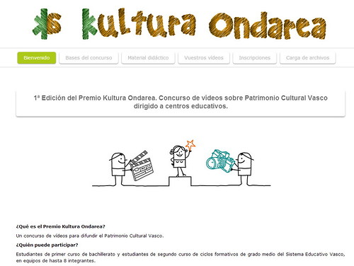 Premio Kultura Ondarea, concurso de vídeos sobre Patrimonio Cultural Vasco