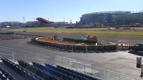 November 18, 2013 New Meadowlands Racetrack Paddock Area