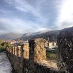 Esta tarde, caminar por la muralla de Béjar, futuros proyectos #Béjar #muralla #historia