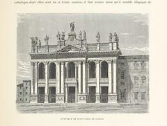 """British Library digitised image from page 465 of """"Rome. Description et souvenirs ... Ouvrage contenant 346 gravures sur bois ... et un plan de Rome"""""""