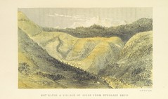 """British Library digitised image from page 183 of """"Kulu: its beauties, antiquities and silver mines, including a trip over the Snowy Range and glaciers. By the author of 'Notes on the Mineral Wealth of India' [i.e. J. Calvert]"""""""