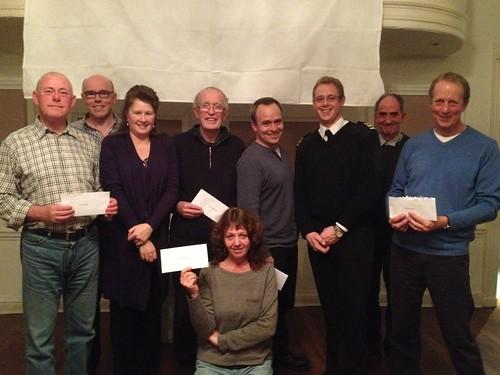Monuments Men REG prize fund winners