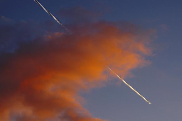 ヒコーキ雲2