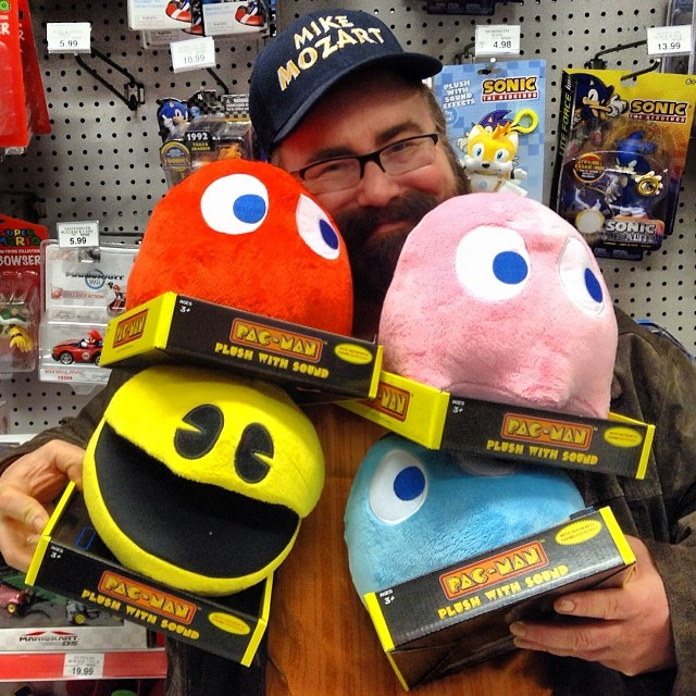 Beautiful Pac Man Plush With Sound At Toys R Us With Mike
