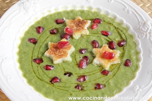Crema de escarola www.cocinandoentreolivos (1)