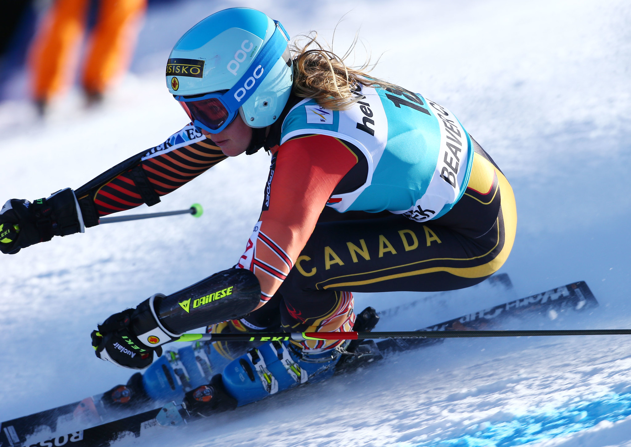 Gagnon races her way to a 13th place finish in the giant slalom at the FIS Alpine World Cup in Beaver Creek, U.S.