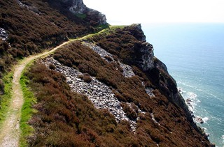 Exmoor coast path