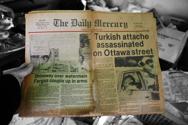 The Daily Mercury, Guelph, Friday August 27, 1982, 25 cents.