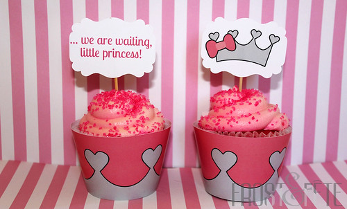 Little Princess Baby Shower Cupcakes