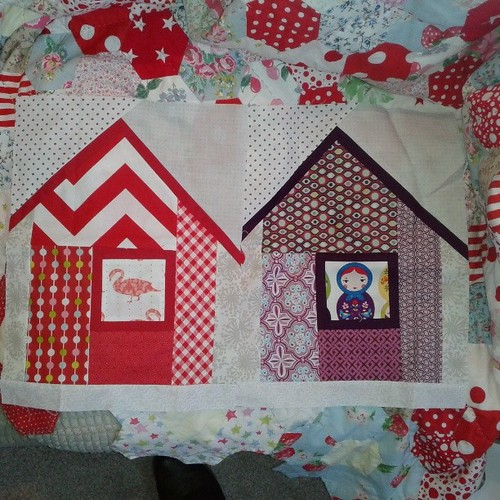 Gorgeous blocks from @valbetweenquilts arrived last week, thank you so much :-)