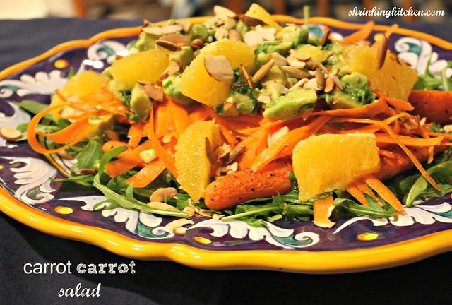 carrot carrot salad