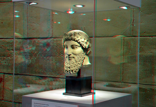 Cypriote Portrait Head 3D