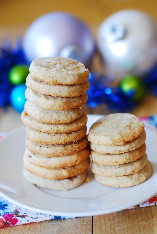 Ode to pecan shortbread cookies