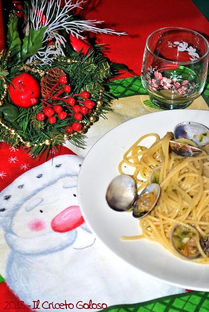 Spaghetti con vongole e zucchine (1)