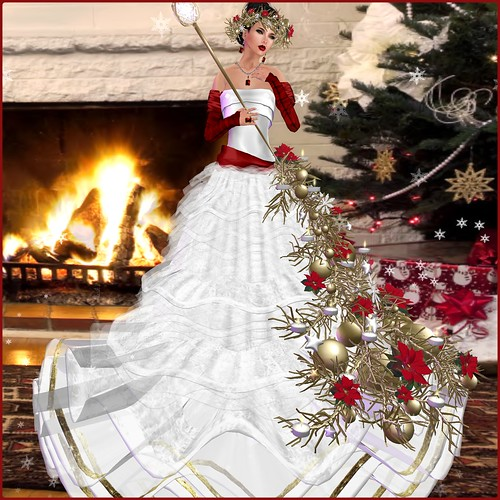 PM  Merry Gown - Holidays Gift 2013 by Orelana resident