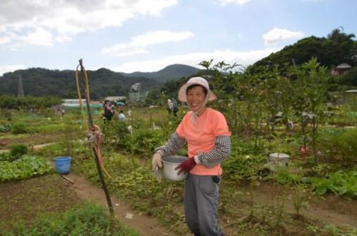 市民農夫,攝影:黃淑玲。