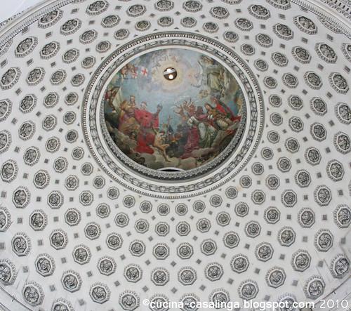 Pantheon Kuppel innen
