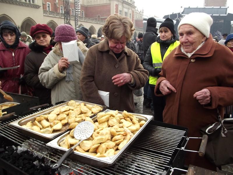 Wigilia dla potrzebujących - Kraków 2013