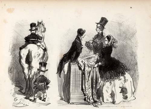 018-Canario-( bobo)-La Ménagerie parisienne, par Gustave Doré -1854- Fuente gallica.bnf.fr-BNF