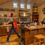 Monika and the Avalon kitchen