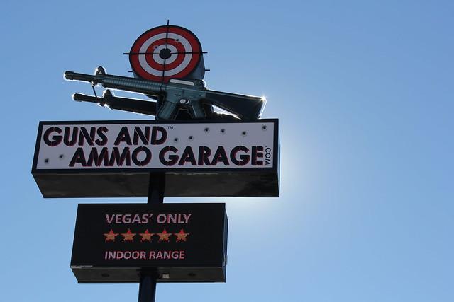 Guns & Ammo Garage #runawaytovegas