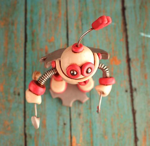 Robot Cupid Coco by HerArtSheLoves
