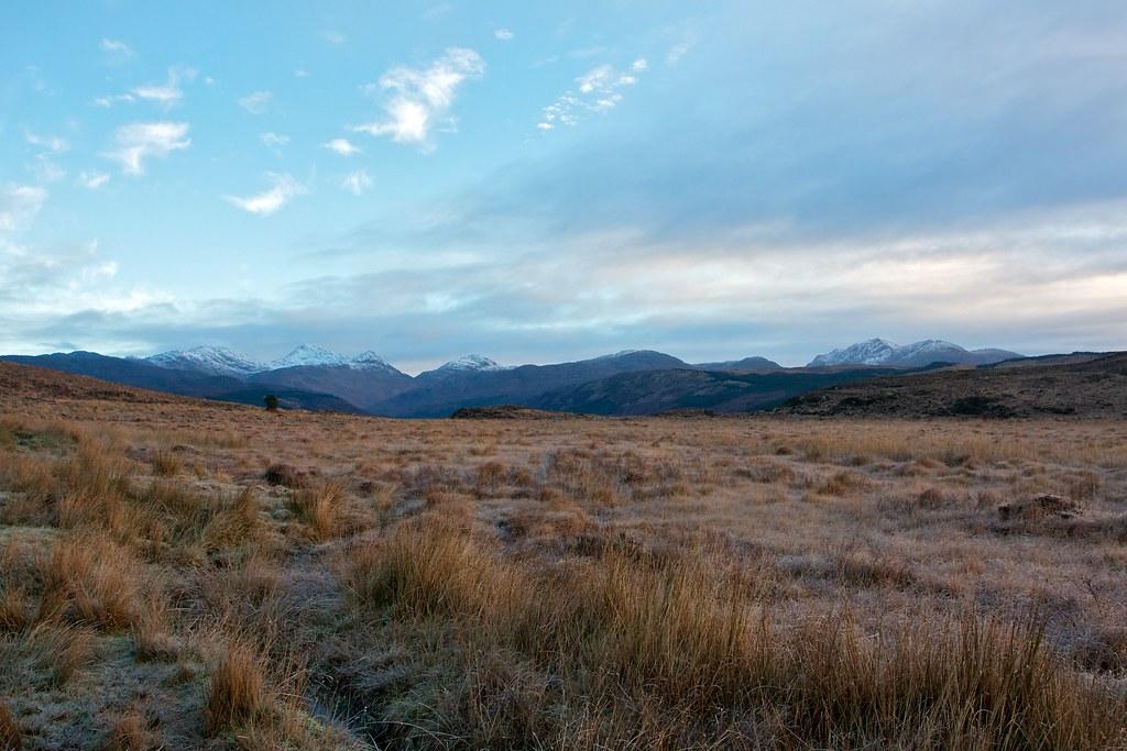 Ardgour hills