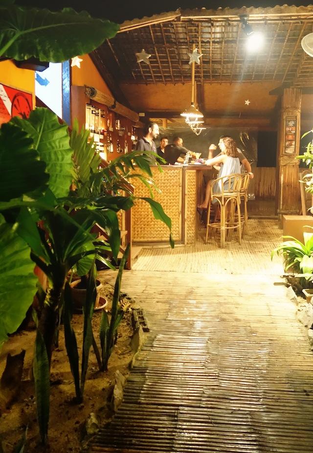 La Salangane bar El Nido Palawan