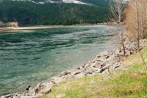 Columbia River, Revelstoke, Kootenay Rockies, British Columbia, Canada