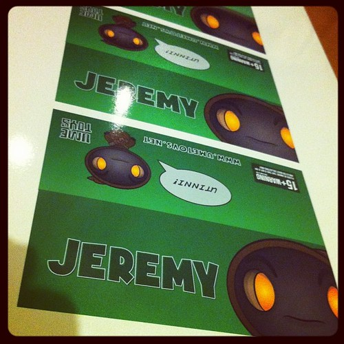 Jeremy headers sorted. BOOM! No rest for the wicked. by [rich]