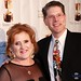 Small photo of Nancy Cartwright and Bob Bergen
