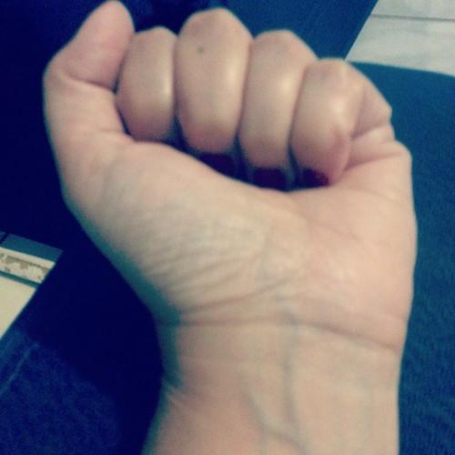 Wrist and fist