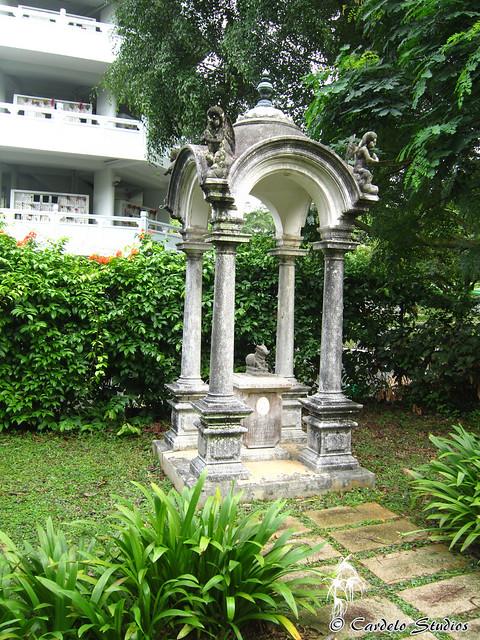 Bidadari Memorial Garden - Koona Vayloo Pillay Cupola 01