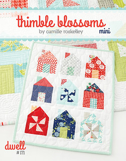 Dwell Mini Quilt Pattern by Thimble Blossoms Camille Roskelley